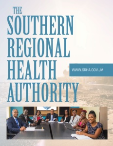 Southern Regional Health Authority brochure cover.