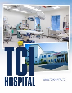 TCI Hospital brochure cover.