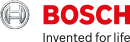 Bosch logo with Invented for life slogan.
