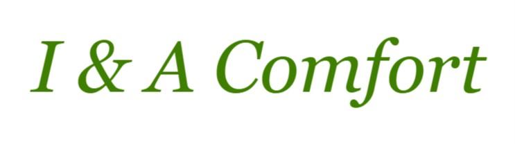 I & A Comfort logo.