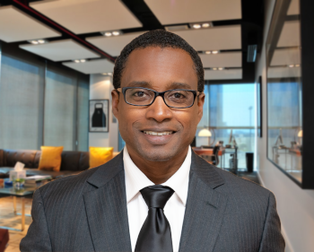 Dr. Ronald Georges, CEO of the British Virgin Islands Health Services Authority