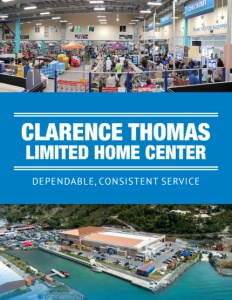 Clarence Thomas Limited Home Center brochure cover.