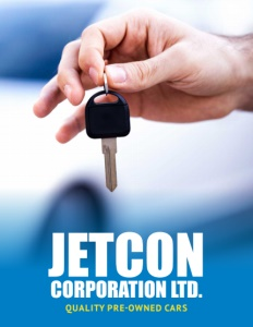 Jetcon Corporation Limited brochure cover.