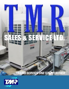 TMR Sales & Service Ltd. brochure cover.