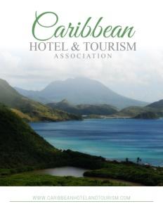 The Caribbean Hotel & Tourism Association brochure cover.