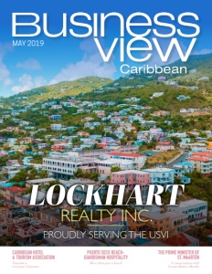 May 2019 issue cover of Business View Caribbean.
