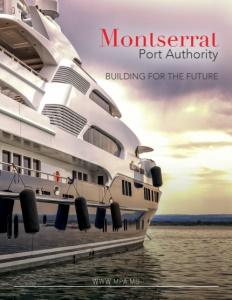 Montserrat Port Authority brochure cover.