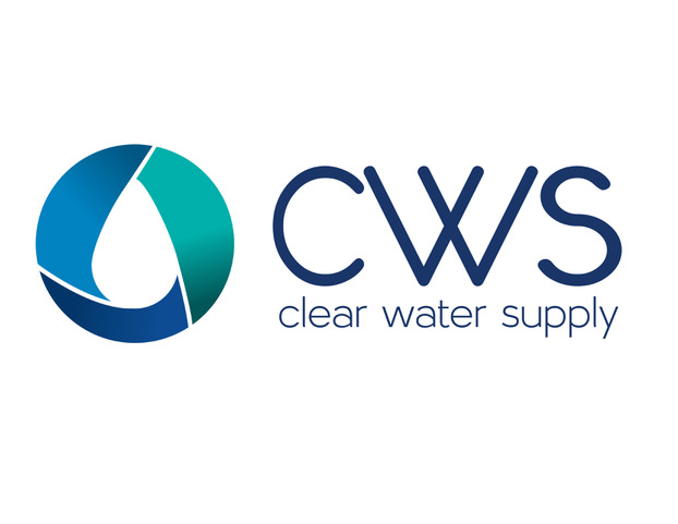 Clear Water Supply logo.