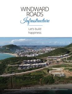 Windward Roads Infrastructure brochure cover.