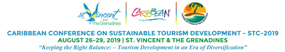 Caribbean Tourism Organization's 2019 Caribbean Conference on Sustainable Tourism Development banner ad. Click to view.