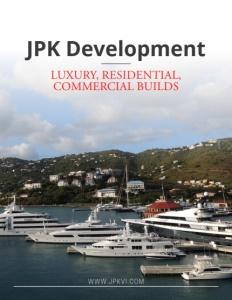 JPK Development brochure cover.