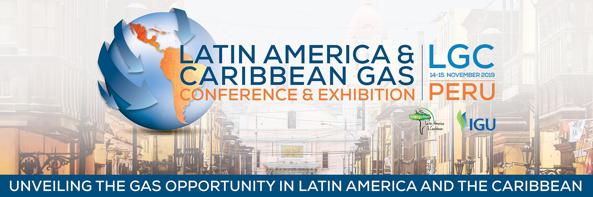 Latin America & Caribbean Gas Conference & Exhibition 14-15 November 2019 ad.