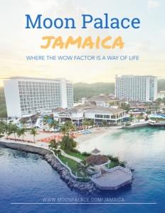 Moon Palace Jamaica brochure cover.