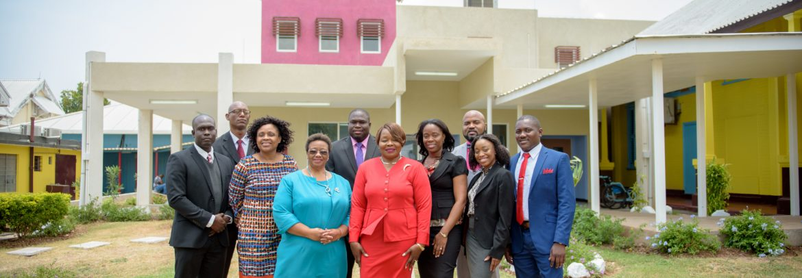 South East Regional Health Authority Jamaica group photo