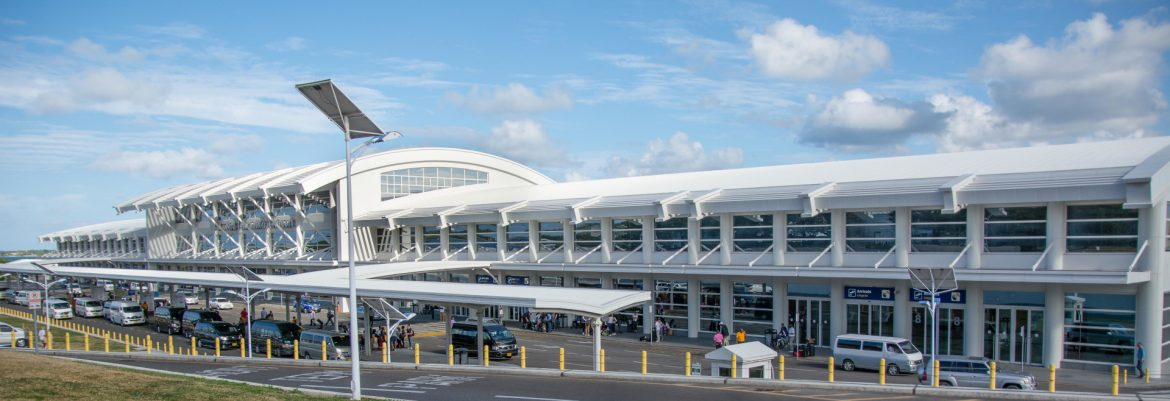 VC Bird International Airport manage by Antigua and Barbuda Airport Authority.