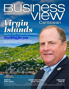 August 2019 Issue cover of Business View Caribbean.