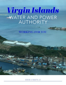 Virgin Islands Water and Power Authority brochure cover.