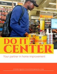 Do it Center brochure cover.