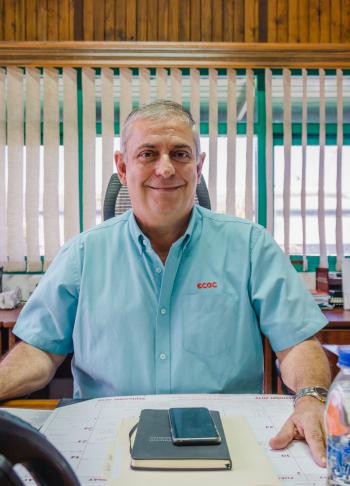 East Caribbean Group of Companies CEO Elvis DeRiggs