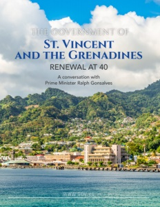 The Government of St. Vincent and the Grenadines brochure cover.
