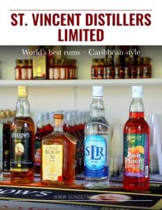 St. Vincent Distillers Limited brochure cover.
