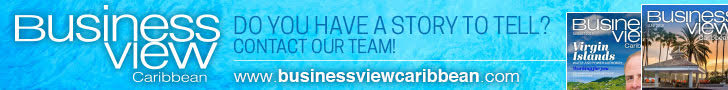 Business View Caribbean banner ad asking: Do you have a story to tell? Click to contact us.