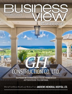 December 2019 issue cover of Business View Caribbean.