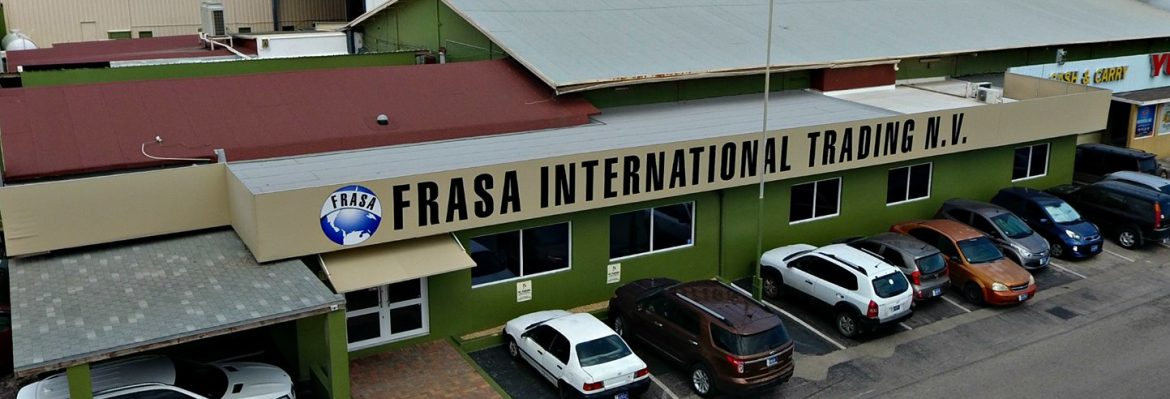Frasa International Trading N.V. building in Aruba.