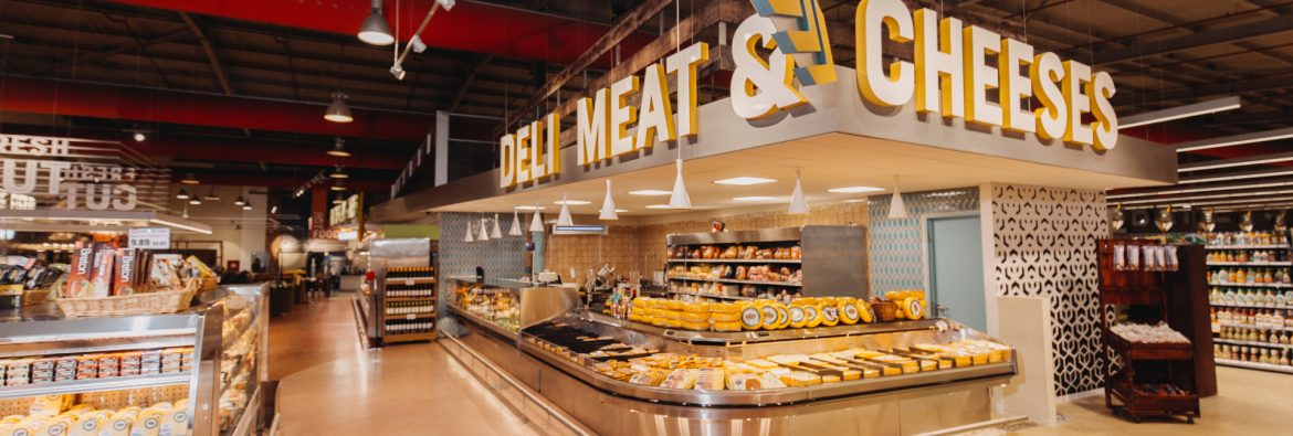 Ling & Sons Food Market Deli Meat & Cheese Counter.