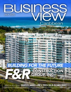 July 2020 issue cover of Business View Caribbean.