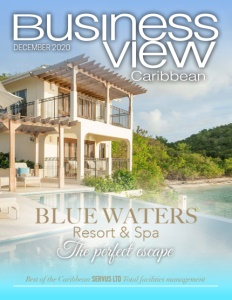 December 2020 issue cover of Business View Caribbean.