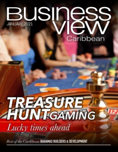 January 2021 issue cover of Business View Caribbean.