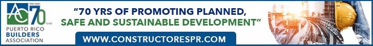 Constructores PR Puerto Rico Builders Association banner ad