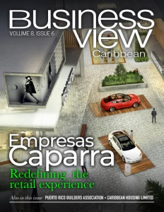 Volume 8, Issue 6 Business View Caribbean cover