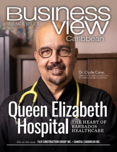 Volume 8, Issue 8 cover of Business View Caribbean.